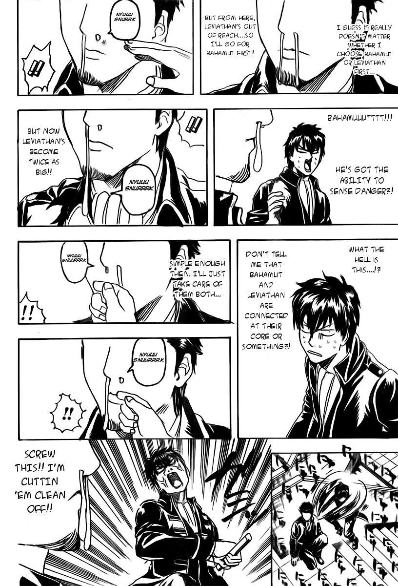 Gintama Chapter, 281 image 010