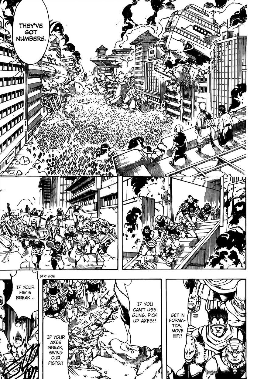 Gintama Chapter, 611 image 009