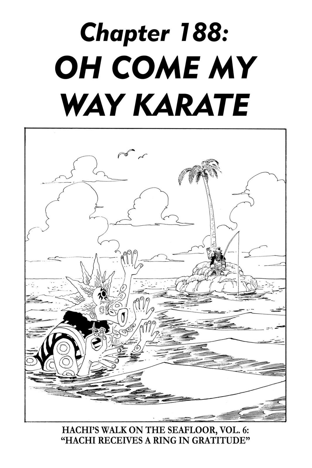 One Piece, Chapter 188 image 001