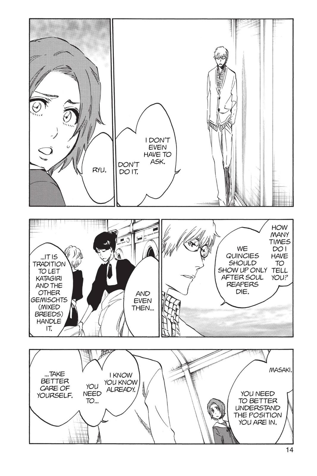 Bleach, Chapter 531 image 014