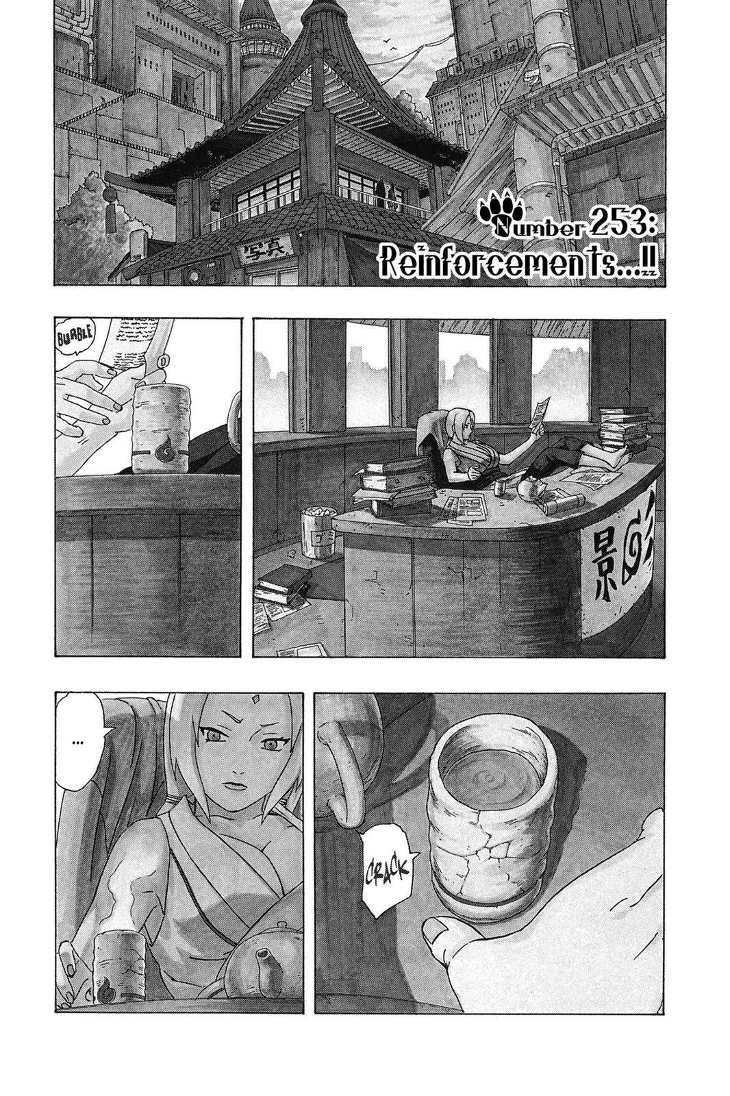 Naruto, Chapter 253 image 001