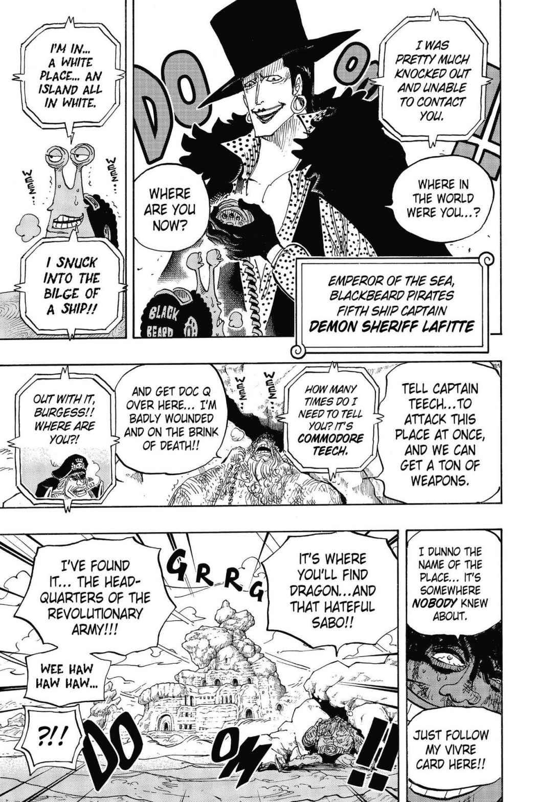 One Piece, Chapter 803 image 009
