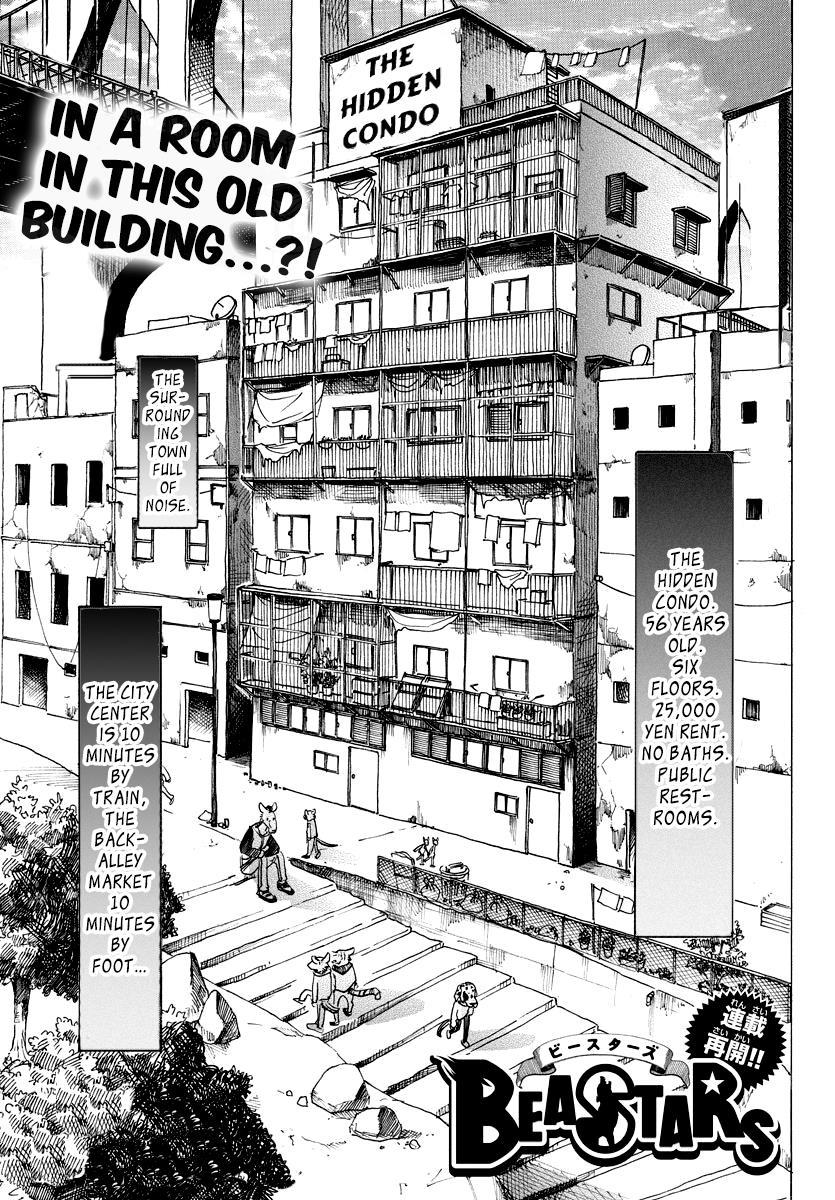 Beastars Manga, Chapter 101 image 001