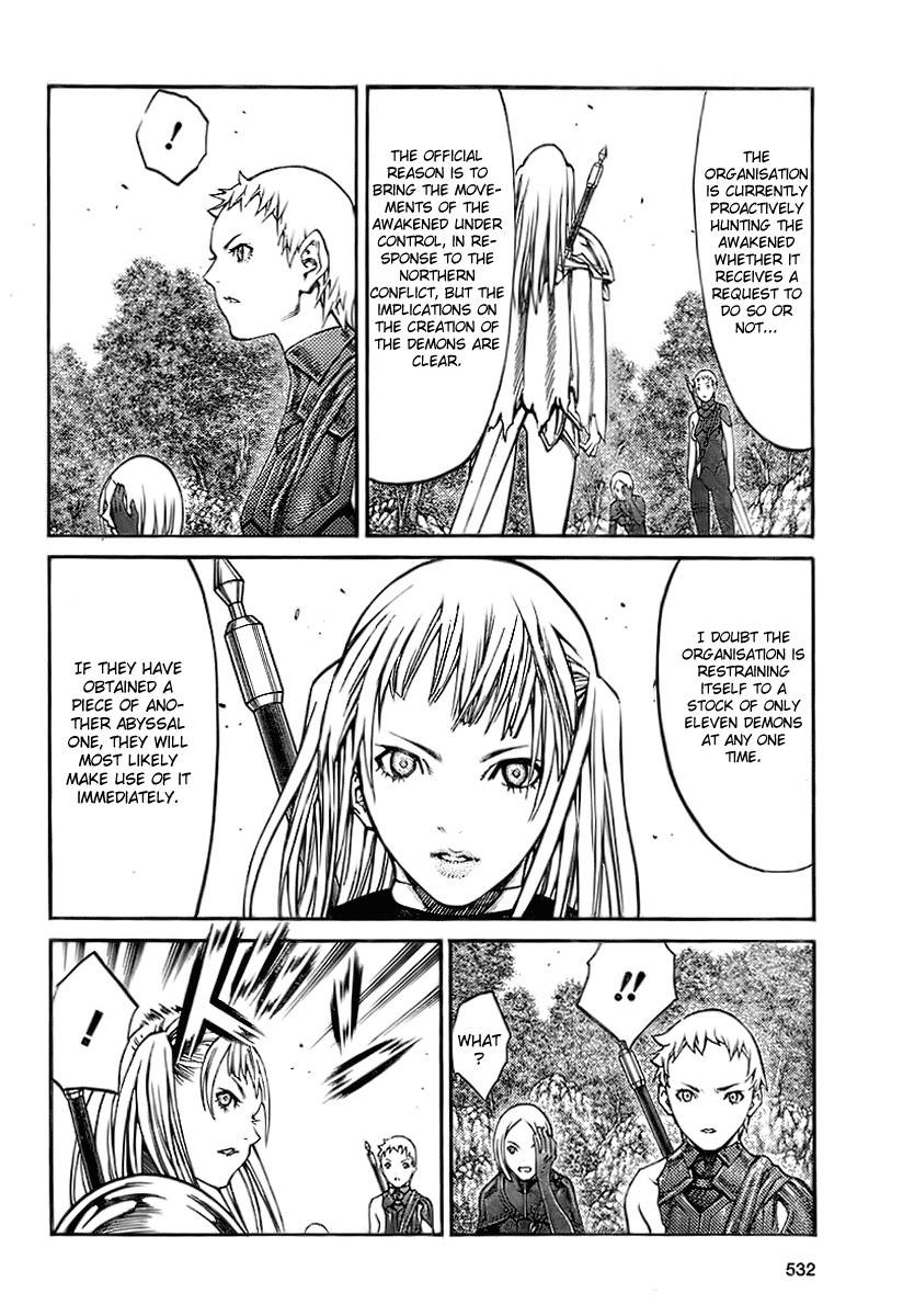 Claymore, Chapter 89 image 014