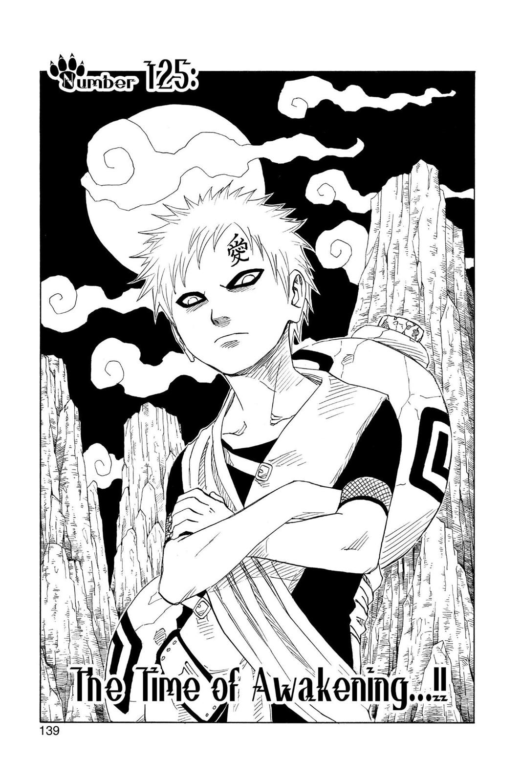 Naruto, Chapter 125 image 001