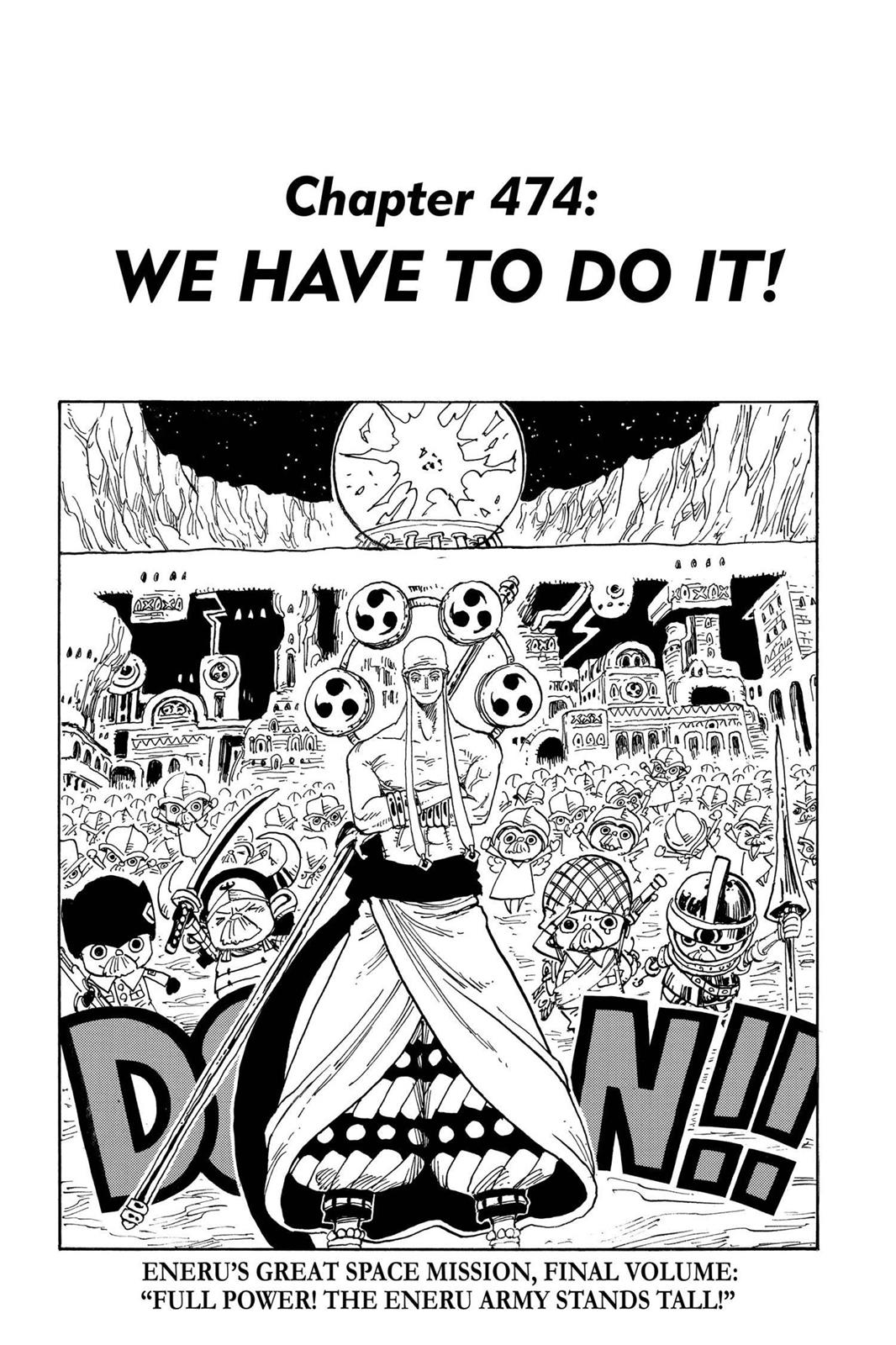 One Piece, Chapter 474 image 001