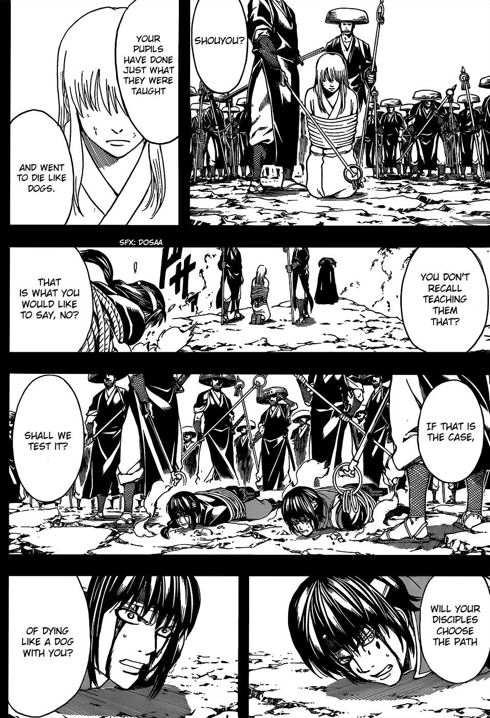 Gintama Chapter, 519 image 011