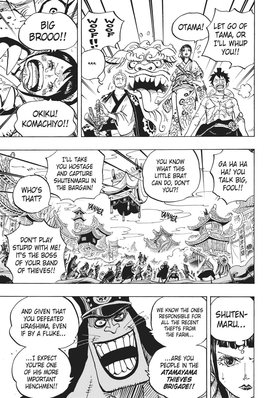 One Piece, Chapter 917 image 007