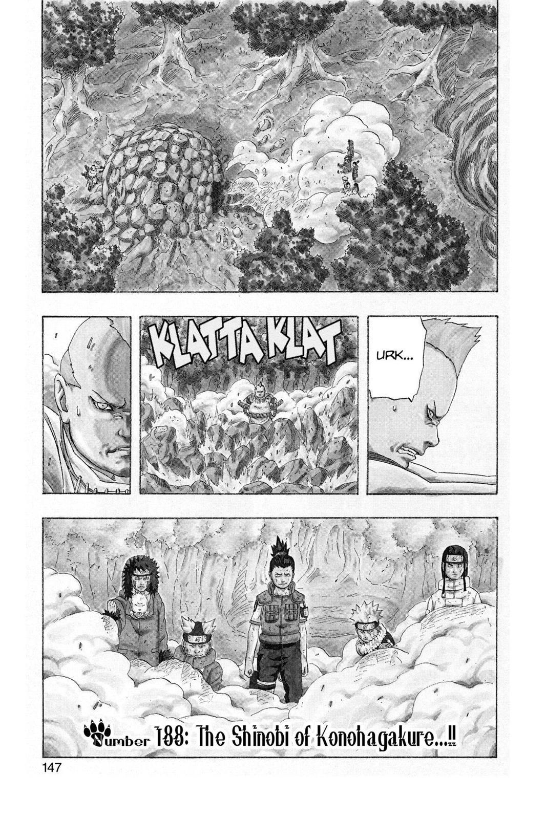 Naruto, Chapter 188 image 001