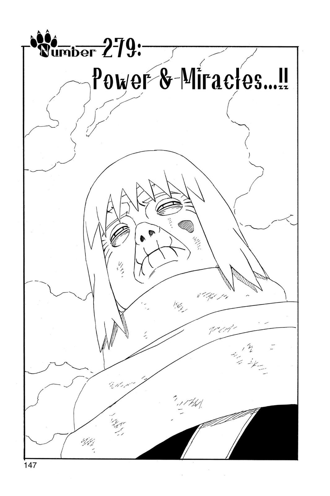 Naruto, Chapter 279 image 001