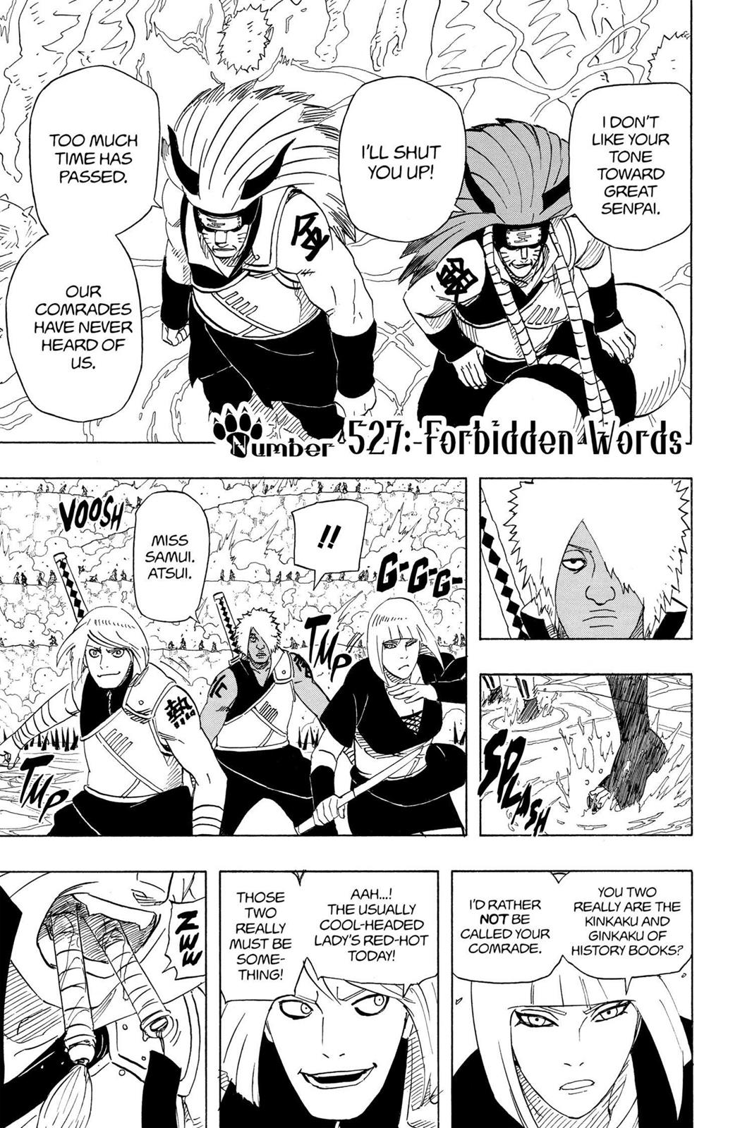 Naruto, Chapter 527 image 001
