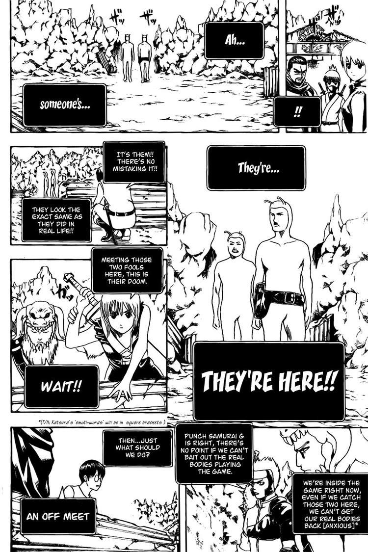Gintama Chapter, 191 image 008
