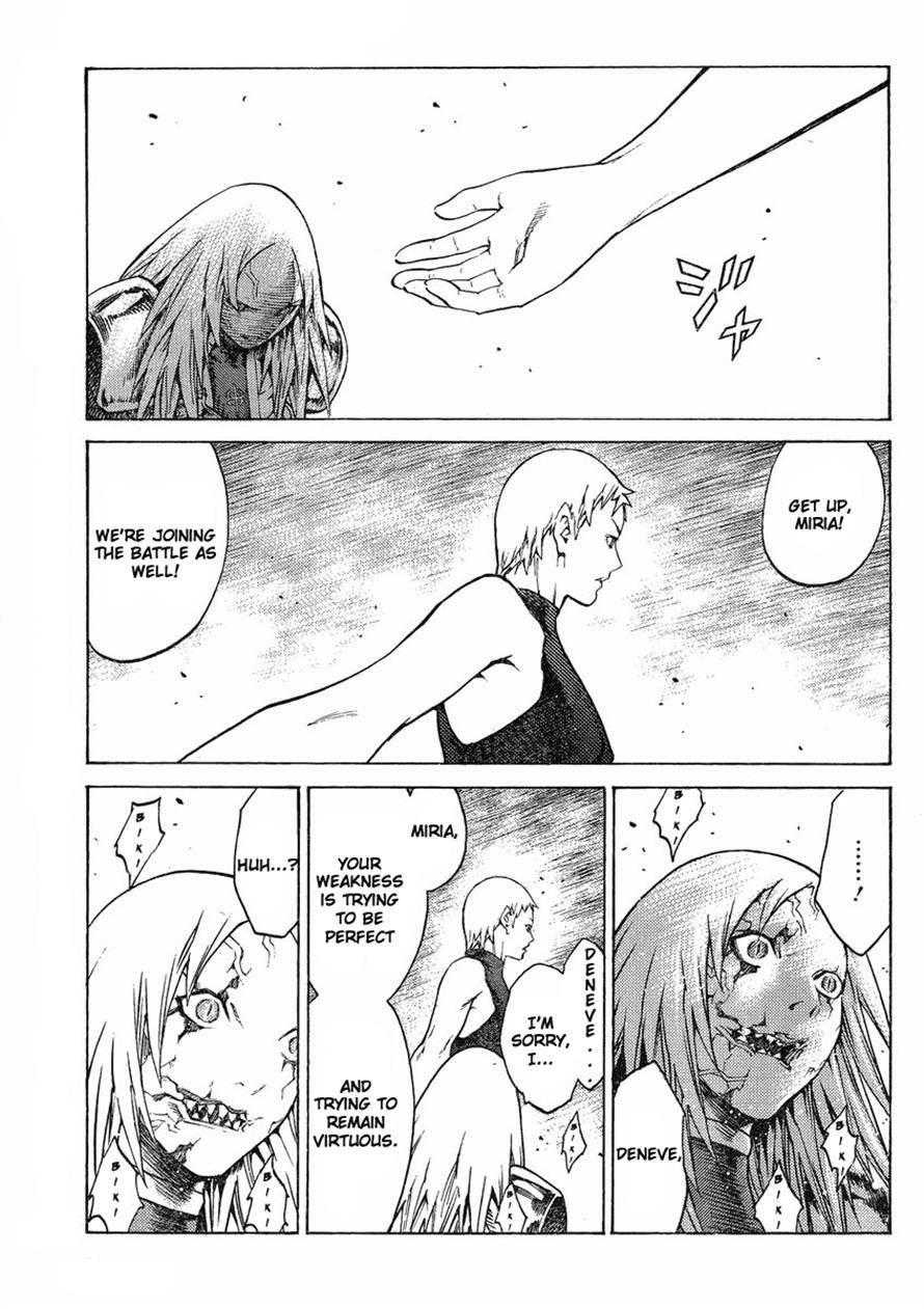 Claymore, Chapter 123 image 011
