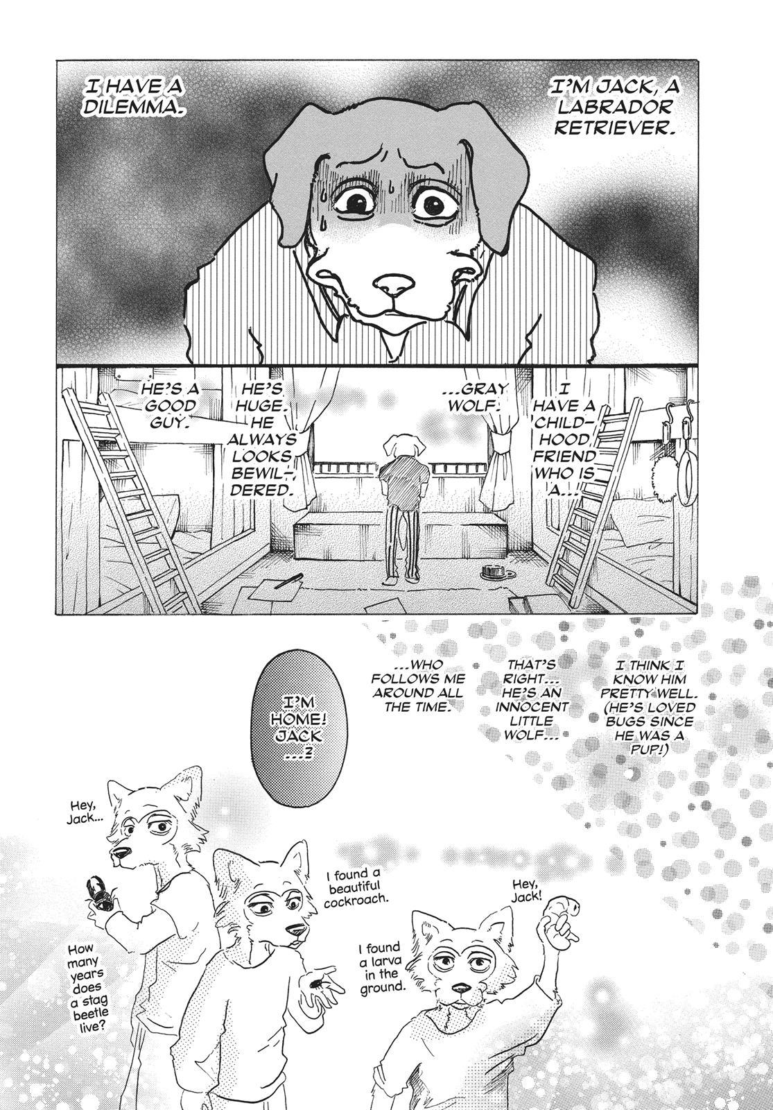 Beastars Manga, Chapter 28 image 003