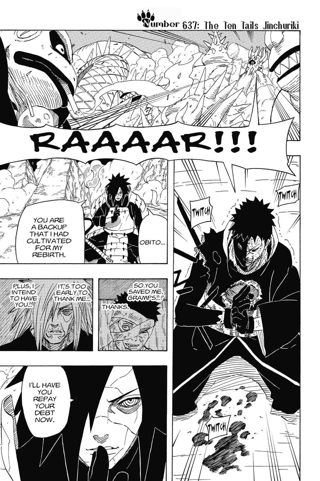 Naruto, Chapter 637 image 001
