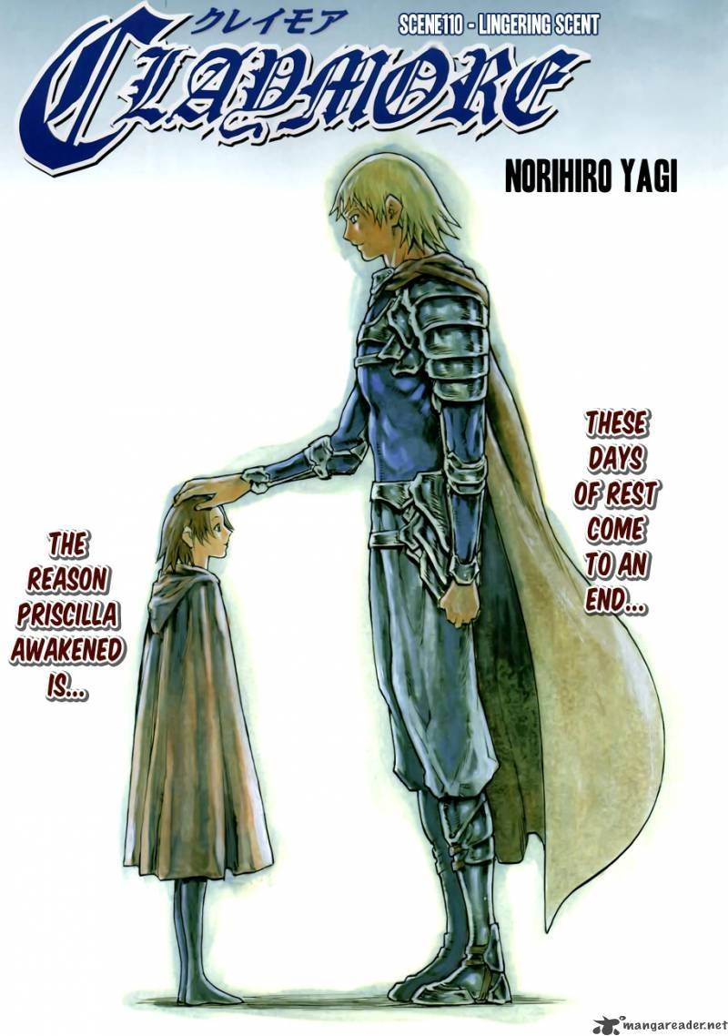 Claymore, Chapter 110 image 001