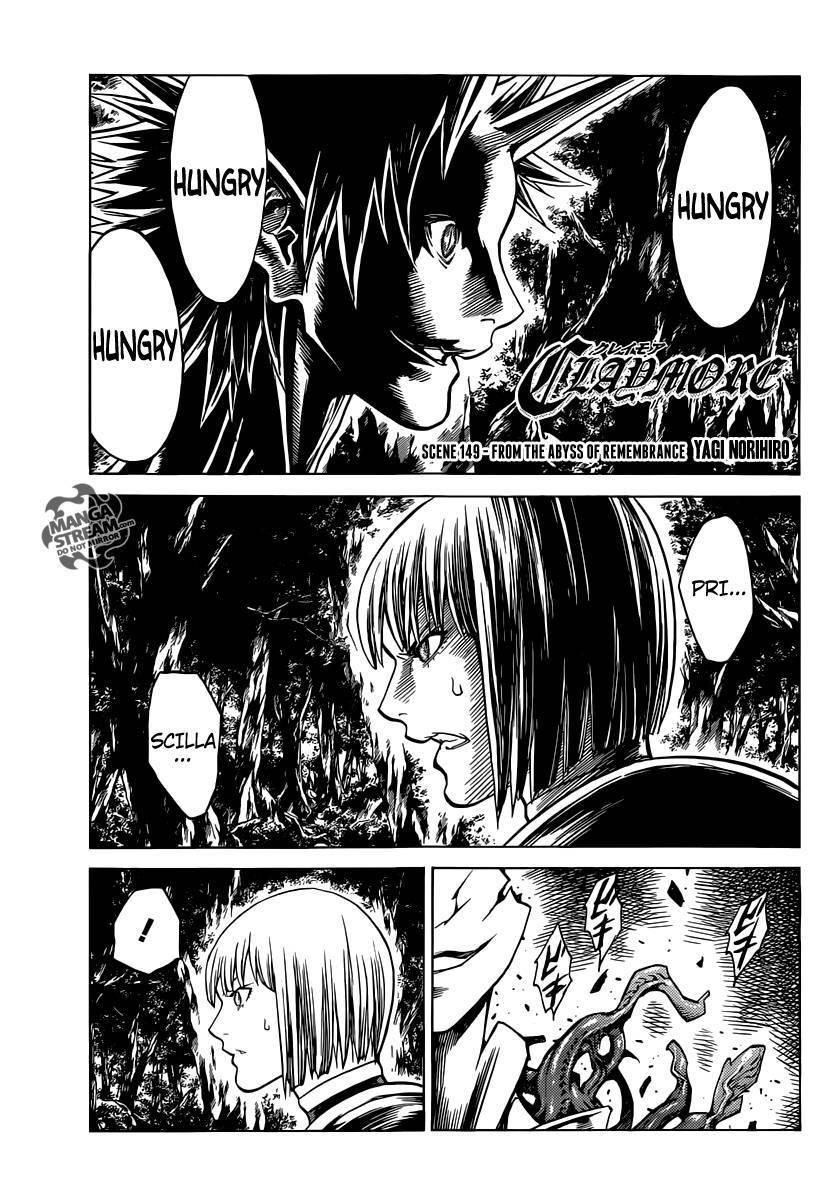 Claymore, Chapter 149 image 032