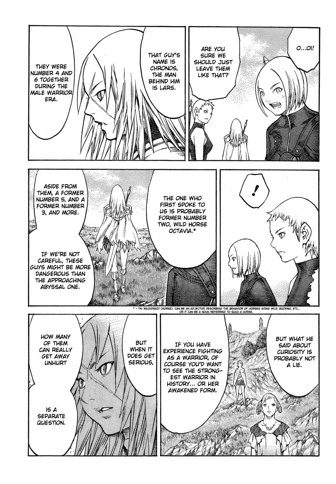 Claymore, Chapter 128 image 012