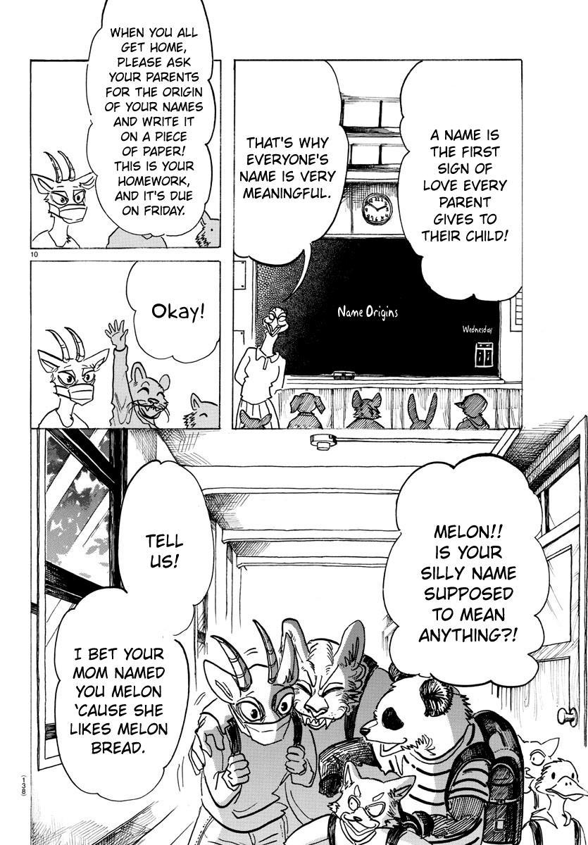 Beastars Manga, Chapter 162 image 010