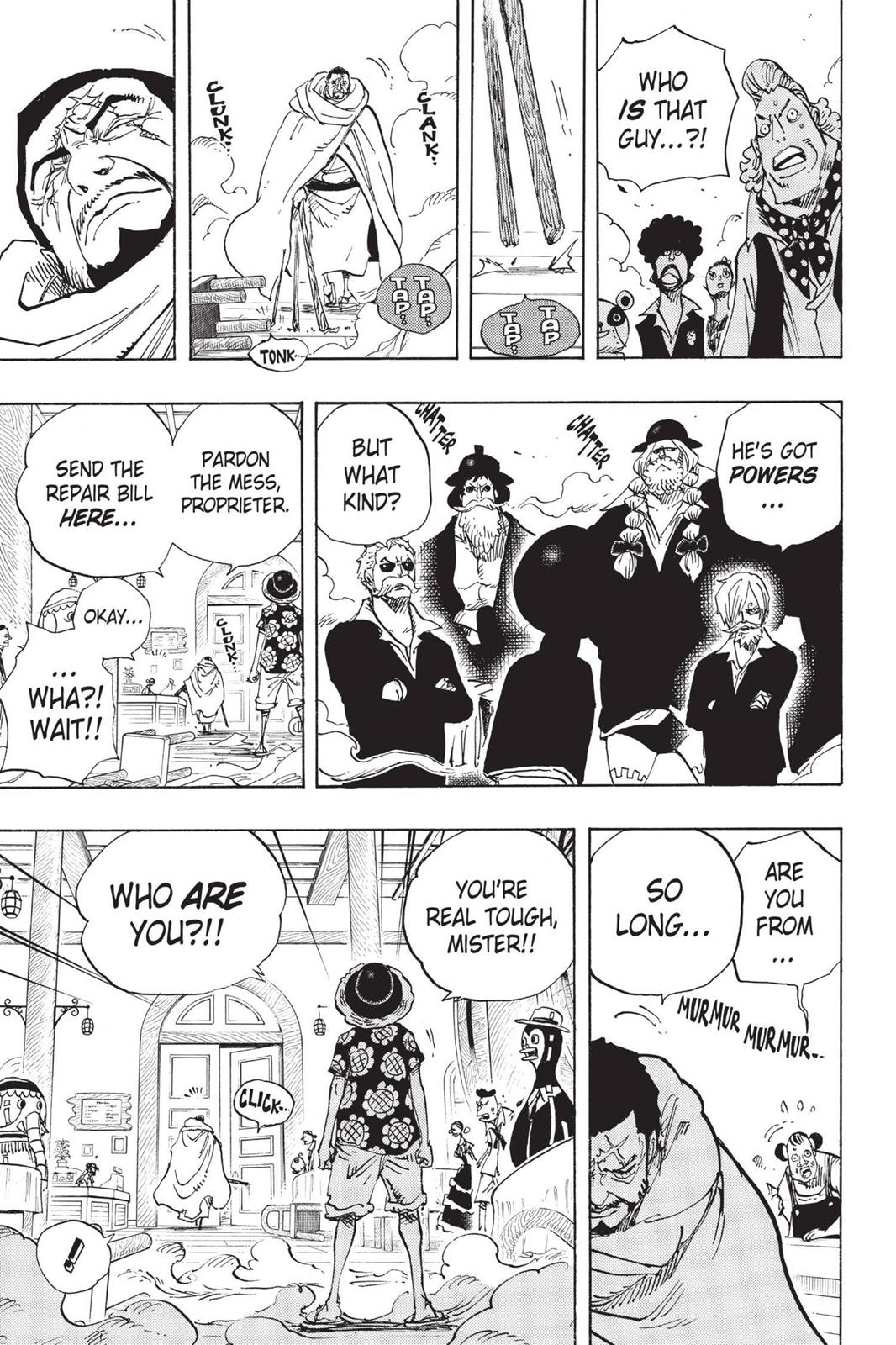 One Piece, Chapter 702 image 003