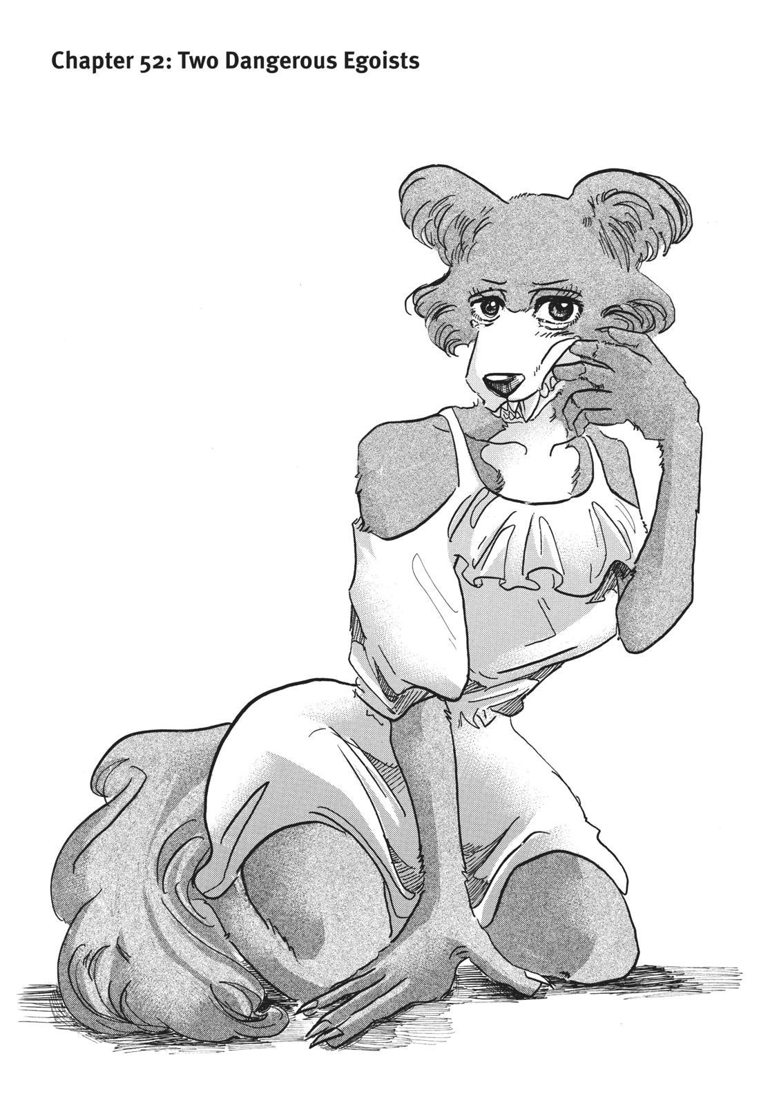 Beastars Manga, Chapter 52 image 001