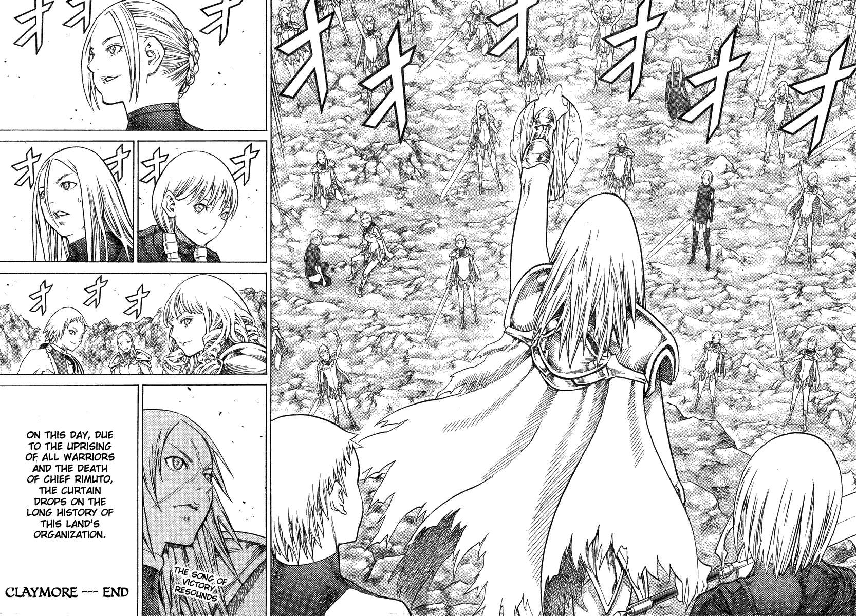 Claymore, Chapter 126 image 021