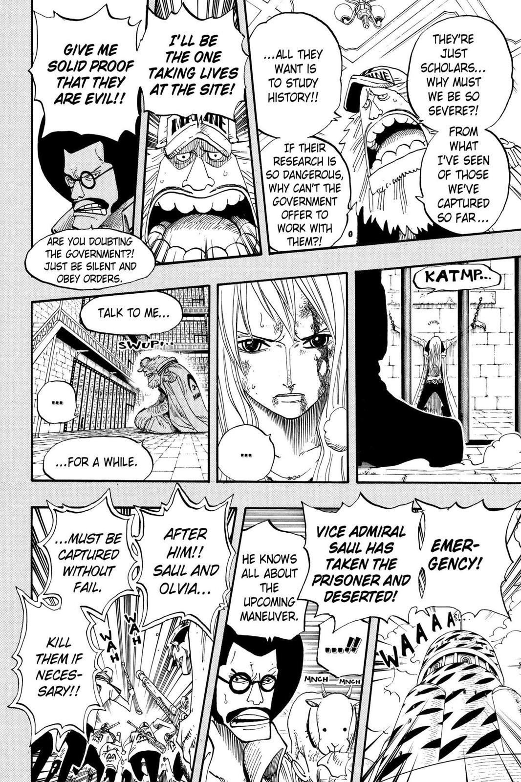 One Piece, Chapter 396 image 014