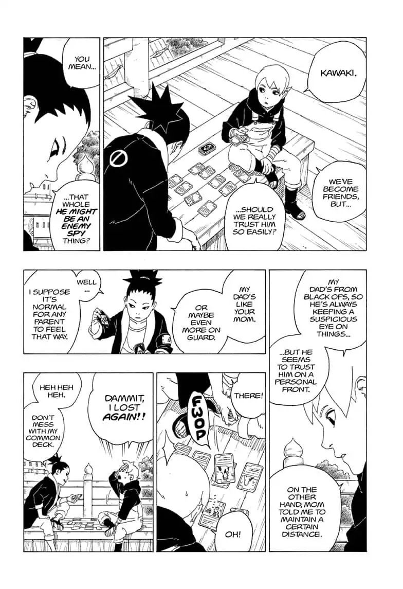Boruto Manga, Chapter 36 image 011