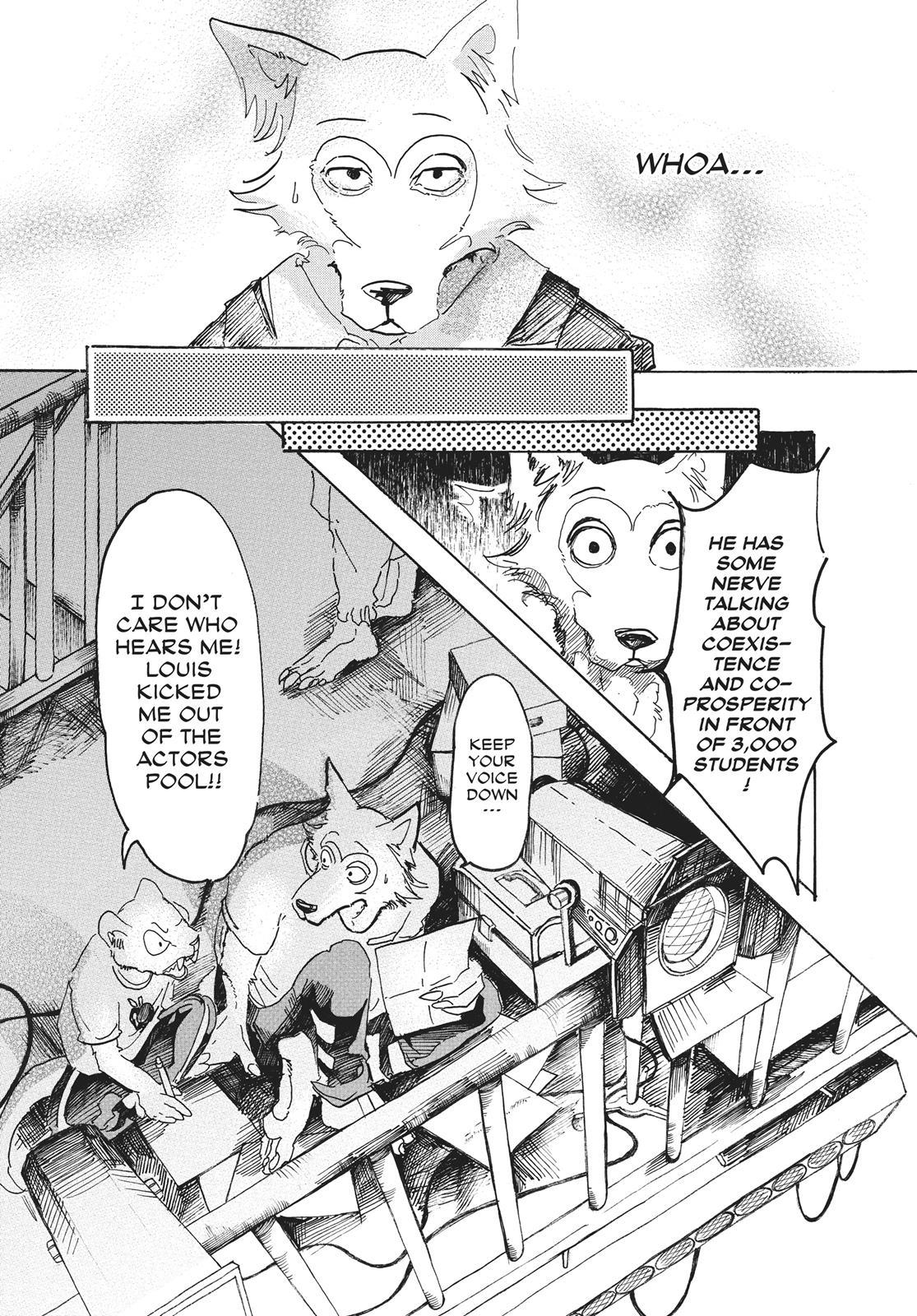 Beastars Manga, Chapter 10 image 010