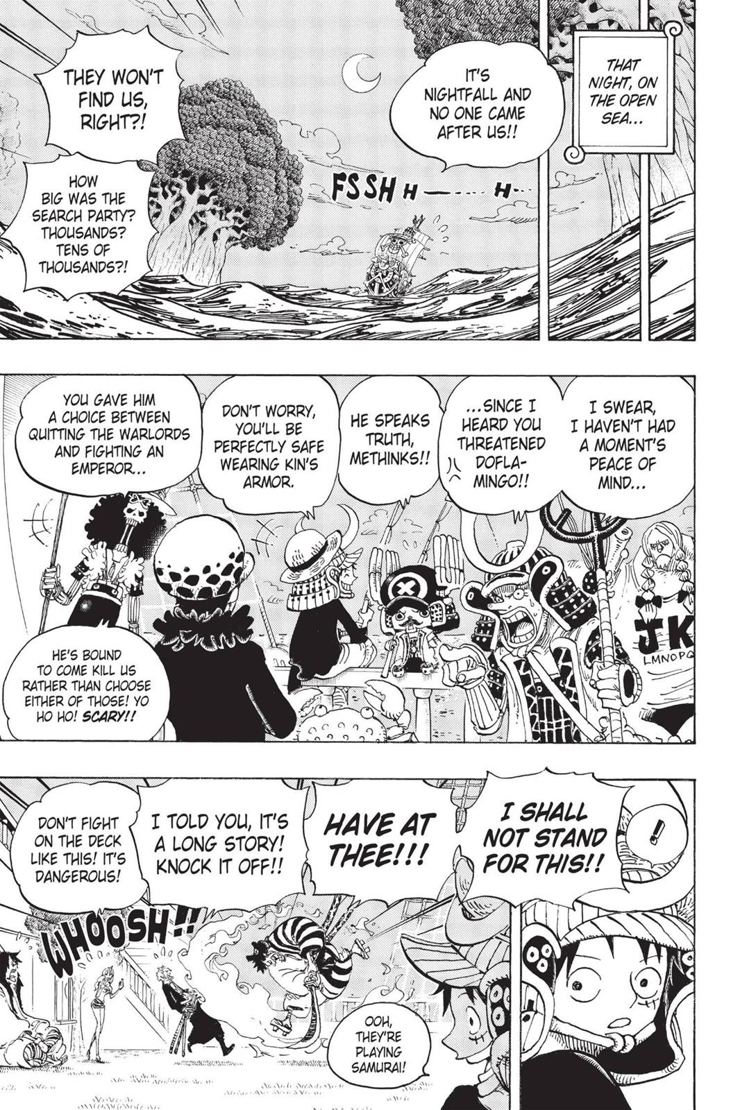 One Piece, Chapter 699 image 012