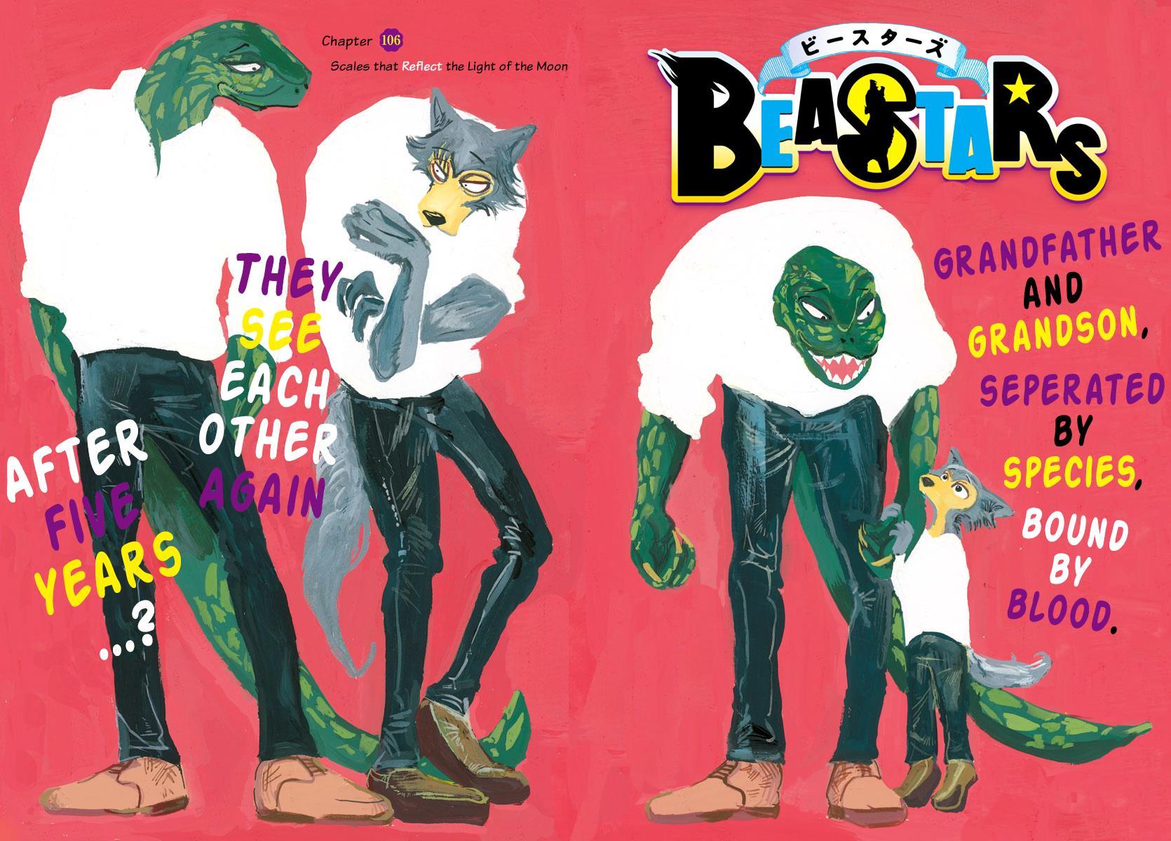 Beastars Manga, Chapter 106 image 001