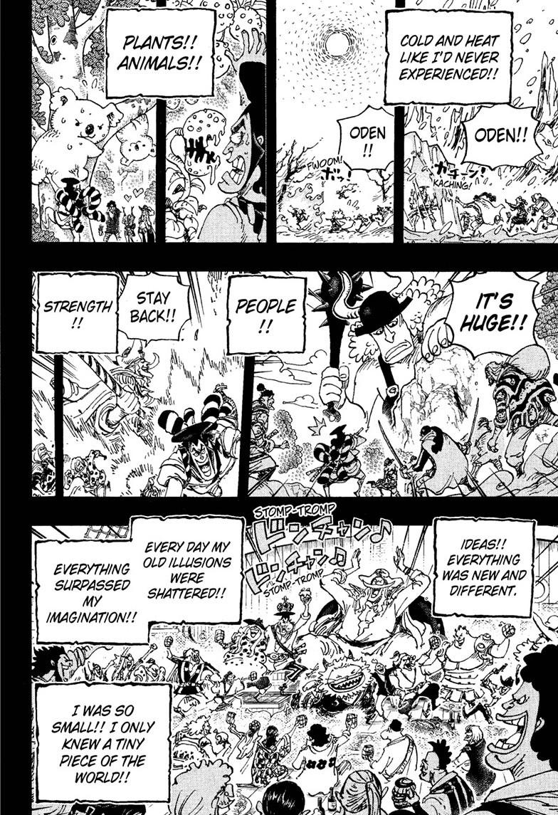 One Piece, Chapter 964 image 016