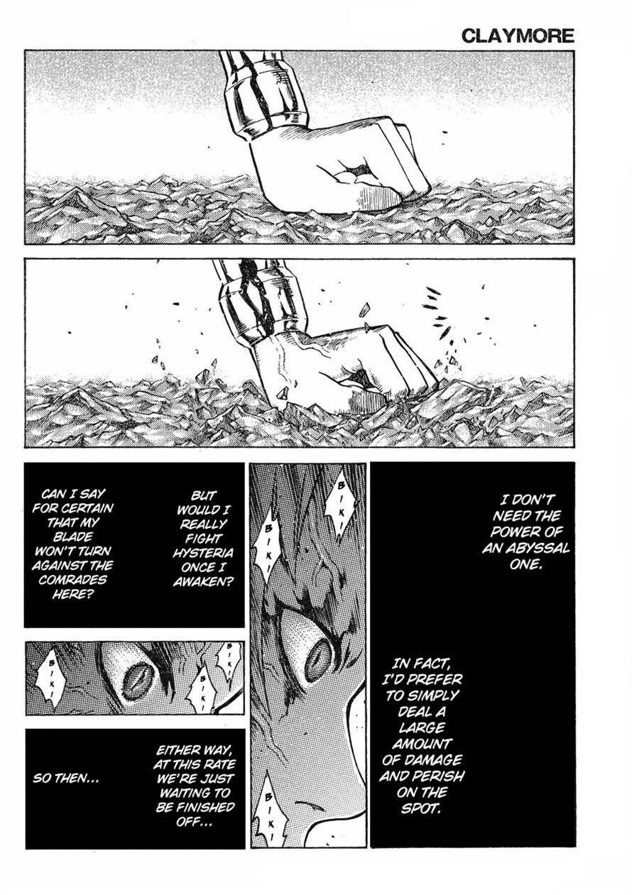Claymore, Chapter 123 image 010