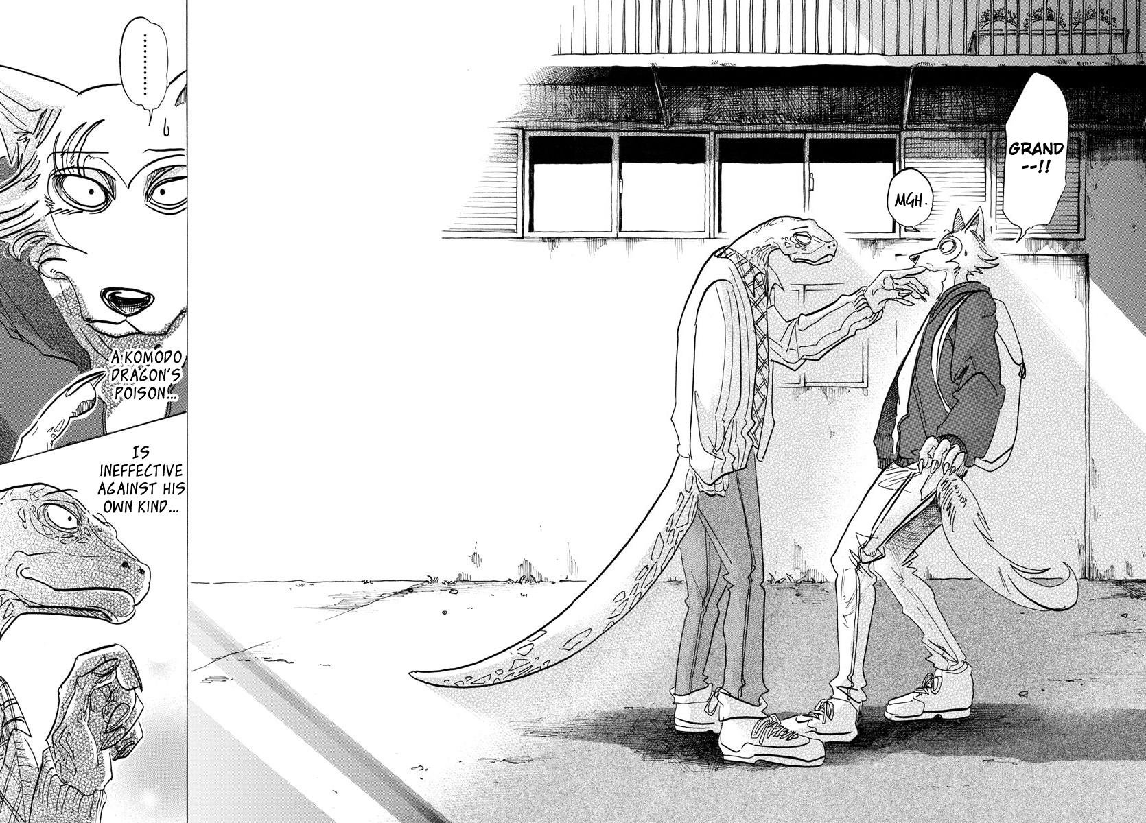 Beastars Manga, Chapter 104 image 018