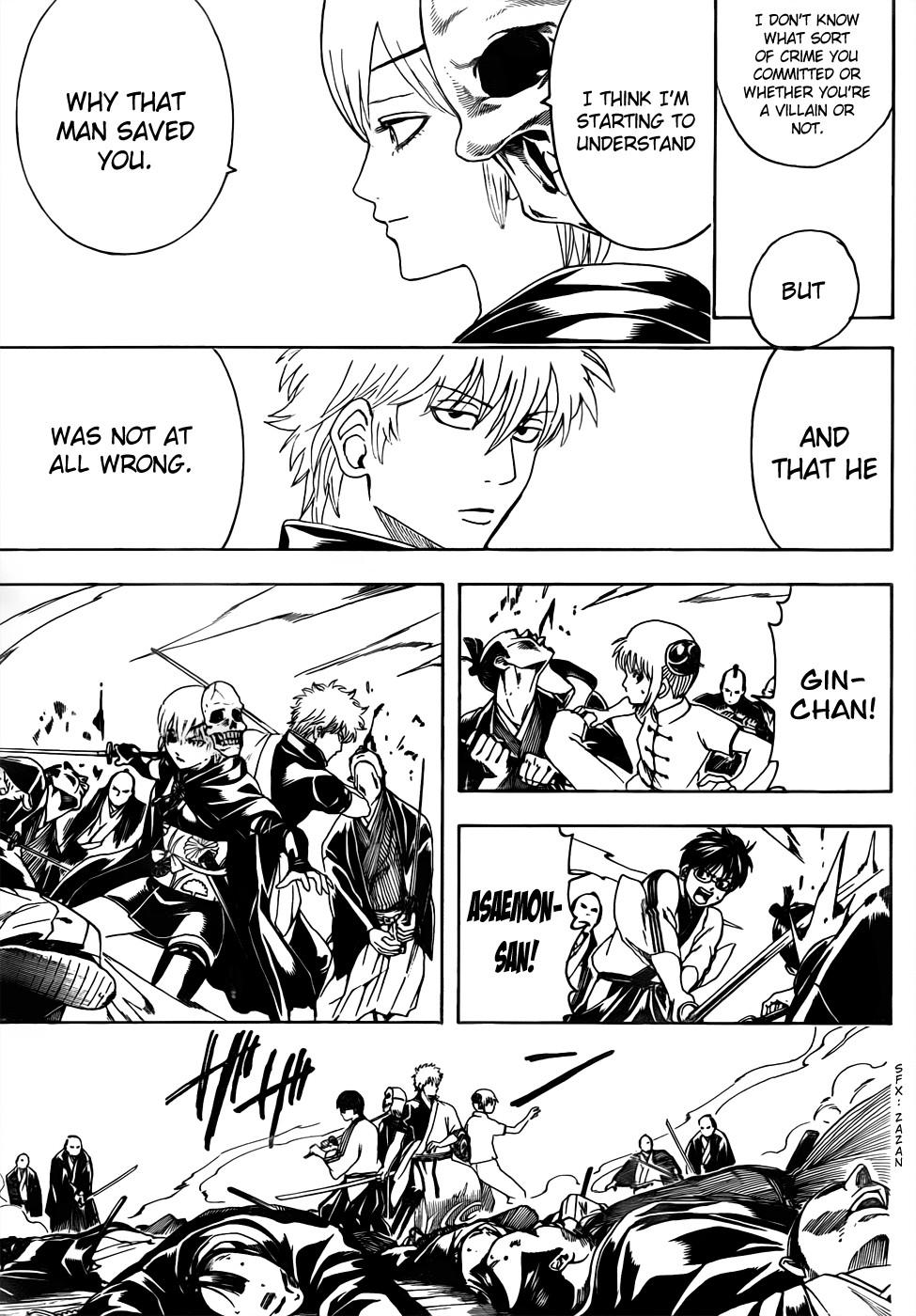 Gintama Chapter, 466 image 017