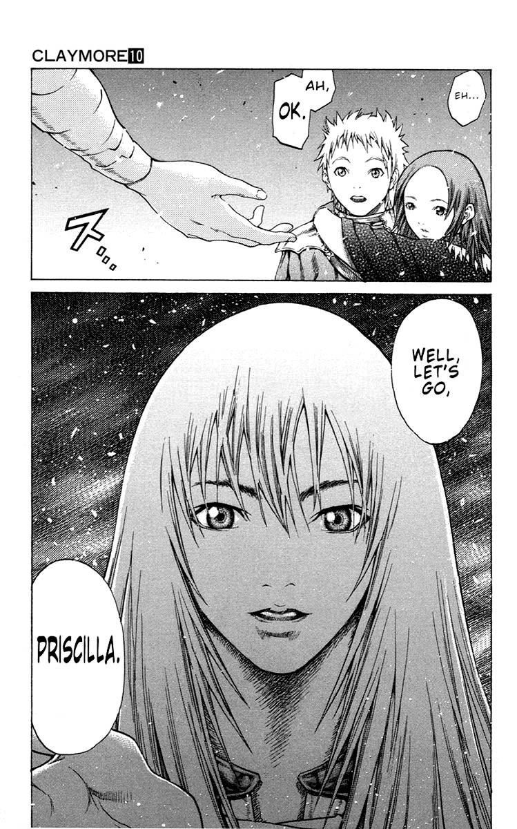 Claymore, Chapter 55 image 029