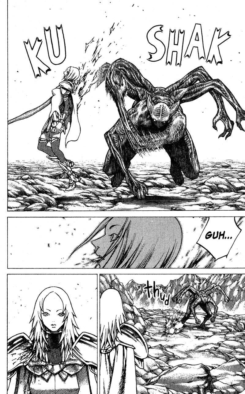 Claymore, Chapter 27 image 028