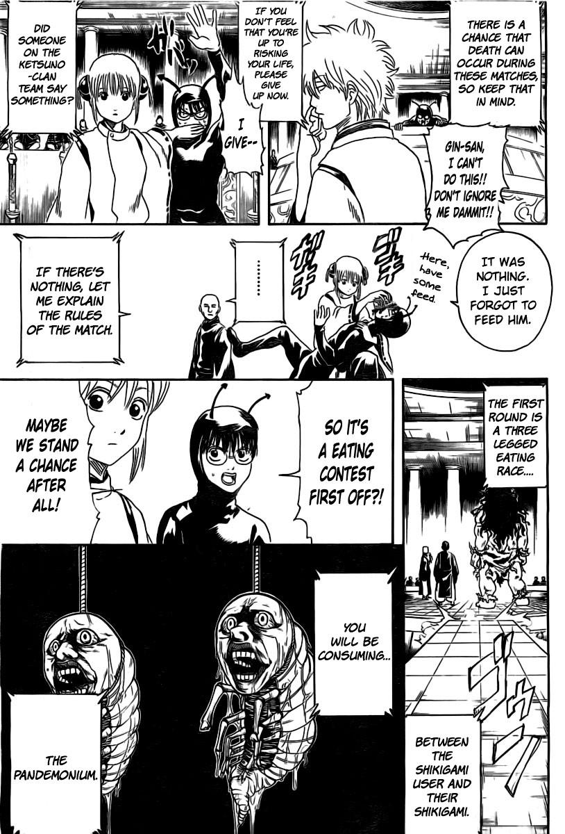 Gintama Chapter, 285 image 005