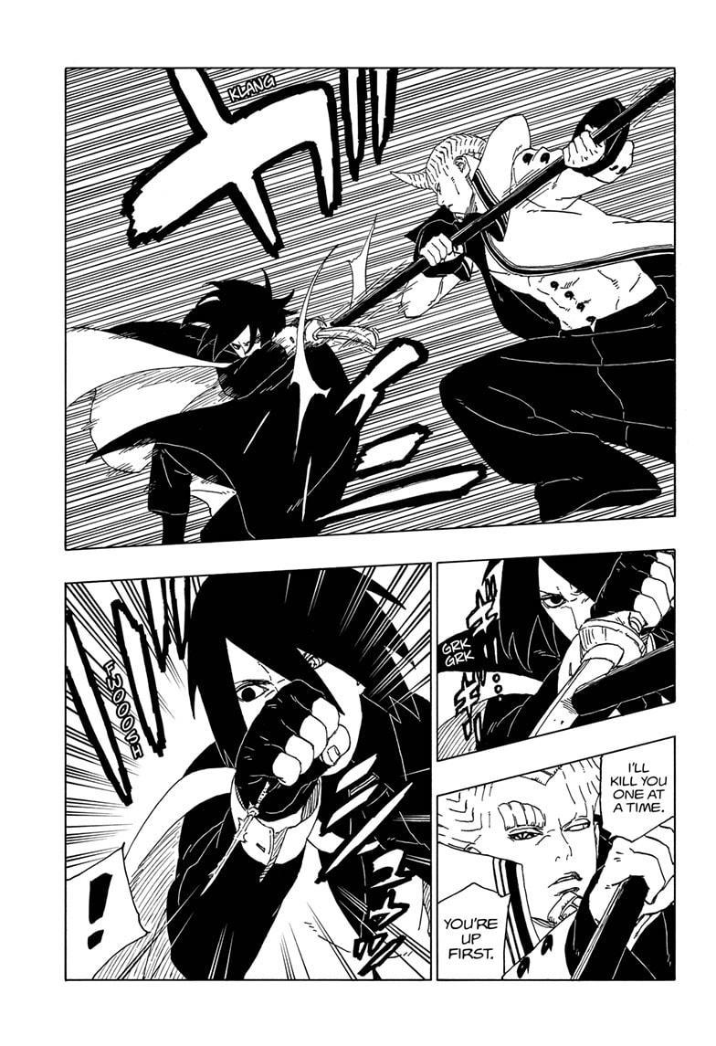 Boruto Manga, Chapter 50 image 033