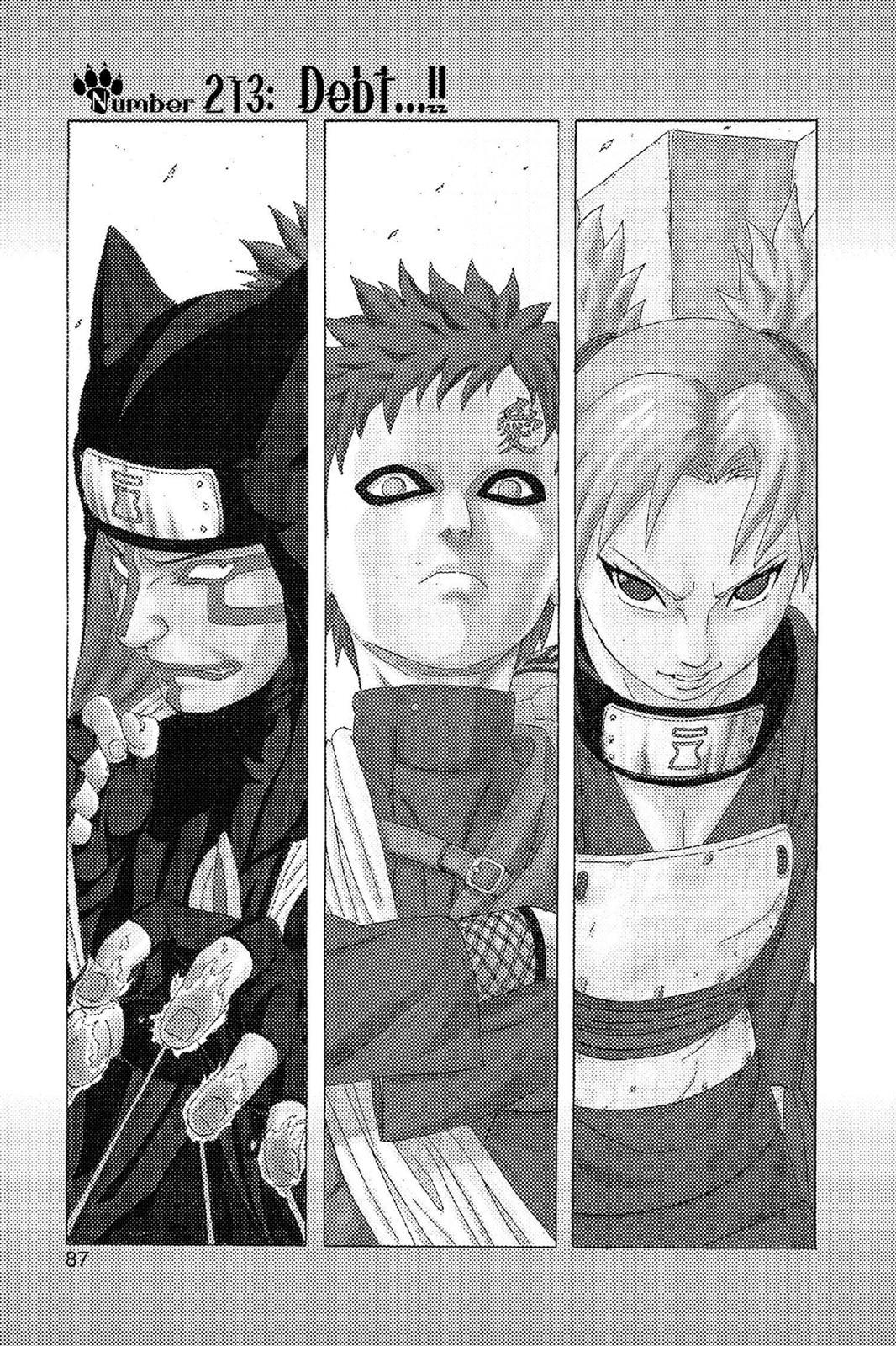 Naruto, Chapter 213 image 001