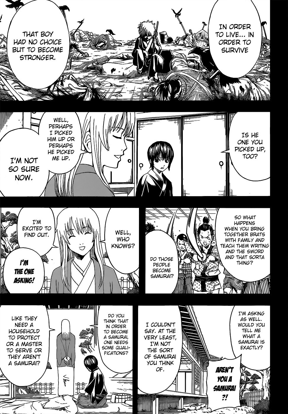 Gintama Chapter, 517 image 009
