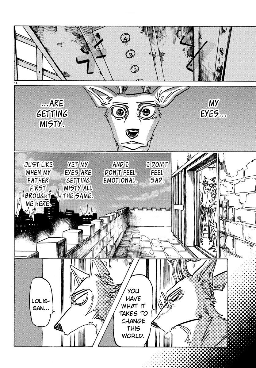 Beastars Manga, Chapter 158 image 015