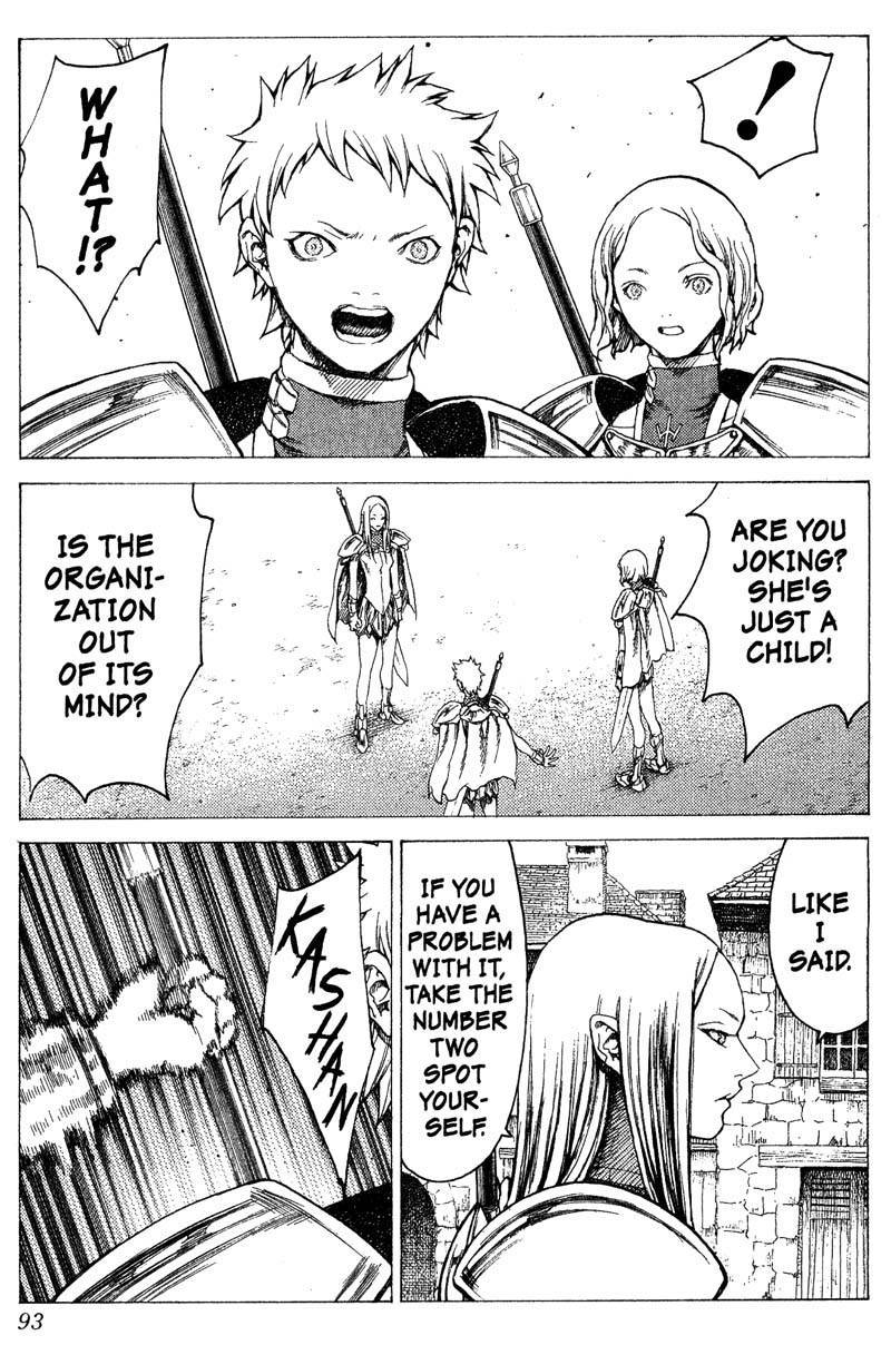 Claymore, Chapter 18 image 022