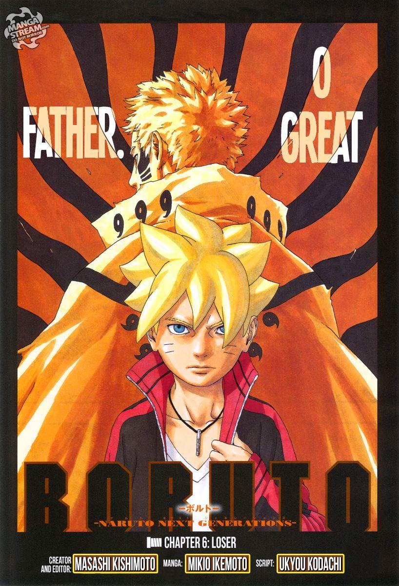 Boruto Manga, Chapter 6 image 001