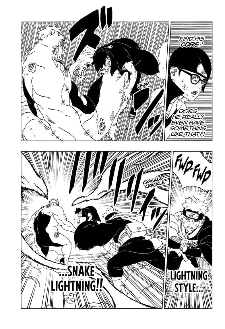 Boruto Manga, Chapter 42 image 028