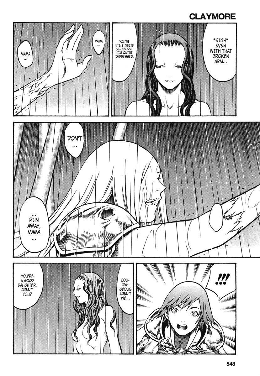 Claymore, Chapter 77 image 016