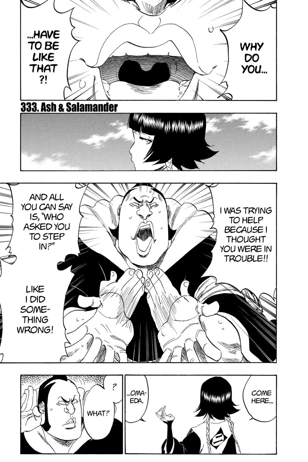 Bleach, Chapter 333 image 001