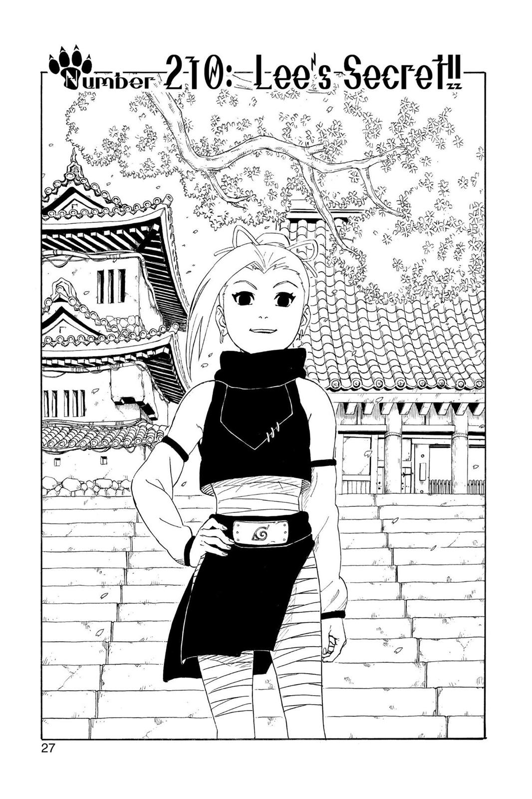 Naruto, Chapter 210 image 001