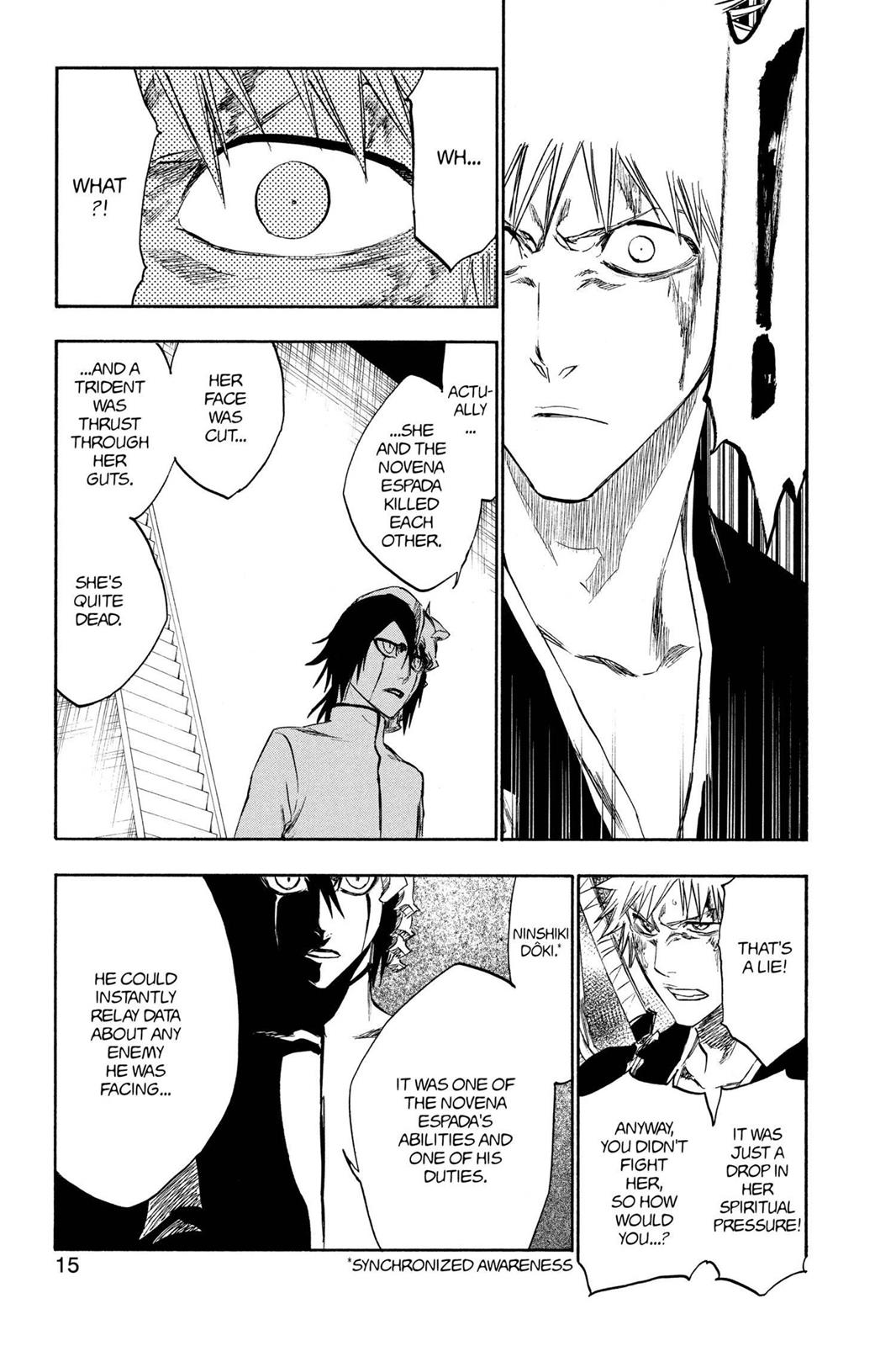 Bleach, Chapter 270 image 013