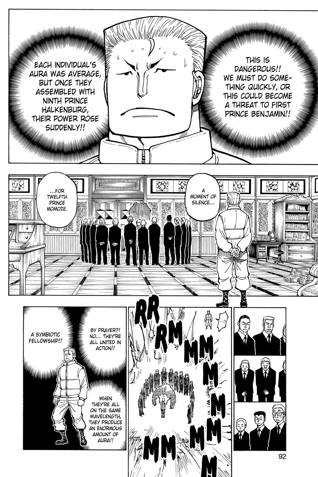 Hunter X Hunter, Chapter 375 image 004